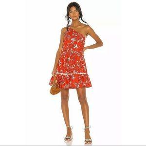 New Free People cherry red all mine mini dress